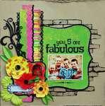 You 5 are Fabulous *Rose Moka*