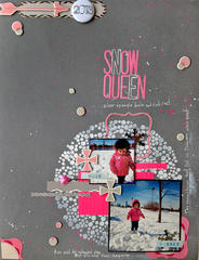 Snow Queen- A Flair For Buttons DT