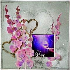 Adore- Scrap FX chipboard design team