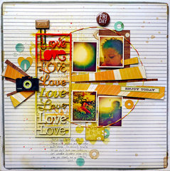 Friday Love- Scrap FX chipboard design team