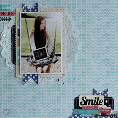 All About Me Layout for Prima