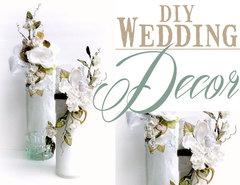 Altered Wedding Centerpiece