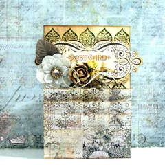 PostCard ** ProjectW007 Jodie Lee CT Work**