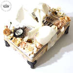 Shabby Chic Treasure Box **Project W022/ Paper Issues CT Work**
