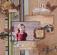 Life Is An Adventure *Scraptacular June Kit*