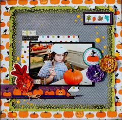 Pumpkin Painting *Imaginisce*