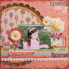 Spring Comes *My Little Shoebox*