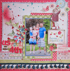 Us Four *Paper Lovelies August Kit*