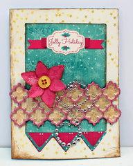 Christmas card *BoBunny*