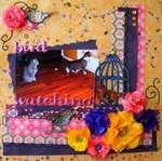 Bird Watching ~Punky Scraps~