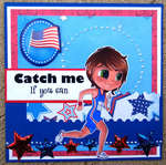 Catch Me If You Can Card ~Simply B Stamps~