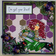 I've Got Your Back ~Simply B Stamps~