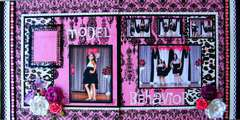 Model Behavior Double Layout