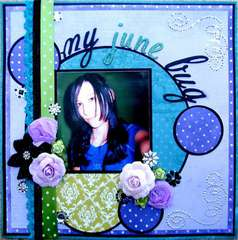 My June Bug ~Flamingo Scraps~