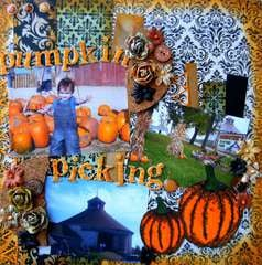 Pumpkin Picking ~Scraps of Darkness & Smeared Ink~