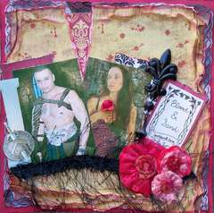 Scraps of Darkness *Feb Kit* ~ Blood & Sand