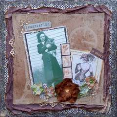 Remembering a Story ~ Sketches: Creatively Yours & Scraps of Darkness