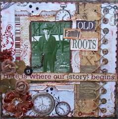 Old Family Roots ~ Scraps of Darkness