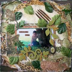 Scraps of Darkness *June Kit*~ Jungle Boy