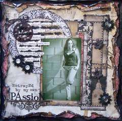 Scraps of Darkness *Sep Kit* ~ Betrayed by my own Passion