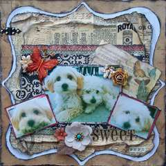 Scraps of Darkness & Sketches: Creatively Yours ~ Sweet Pups