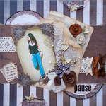 Pause ~ Scraps of Elegance