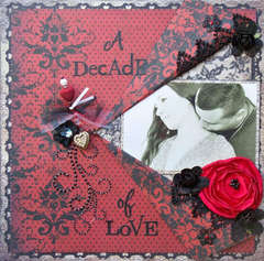 Scraps of Darkness *April Kit* ~ A Decade of Love