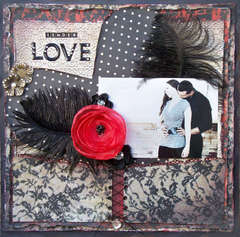 Scraps of Darkness *April Kit* ~ Tender Love