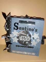 Star Wars Paper Bag Scrapbook Album