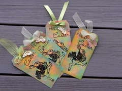 EASTER CARD TAGS