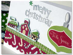 Merry Christmas card *American Crafts*