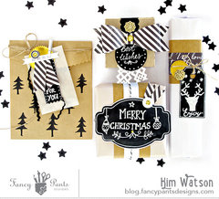 Classy Gift Wrap *Fancy Pants Designs*
