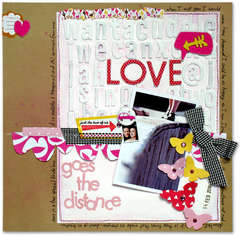 Love that goes the distance *American Crafts*