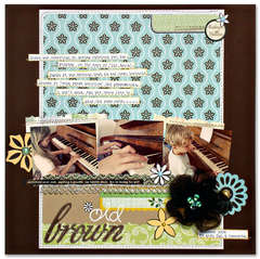 Old Brown *Cocoa Daisy & American Crafts*