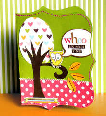 Whoo loves you *American crafts*