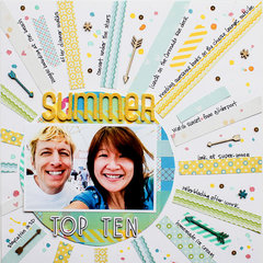 Summer Top Ten (Write Click Scrapbook)