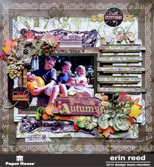Fall into Autumn **Paper House & Birds of a Feather & Plaid** w/Tutorial