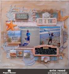 Beach **Paper House Productions**  BLOG HOP!!