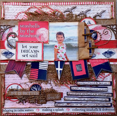 Life is Better at the Beach **Tattered Angels & 7 Gypsies & Canvas Corp & ULD**