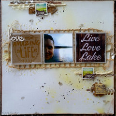 Live Love Lake **w/Video** May Arts & Paper House & Tattered Angels & Prima & Xyron
