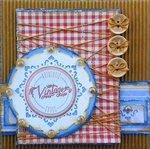 Vintage **Birds of a Feather/Just Imagine/Robin's Nest** with tutorial