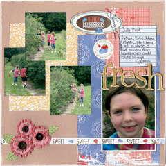 {fresh} * ShaBby GReEn DoOr * FARMER'S MARKET line by Daisy Bucket