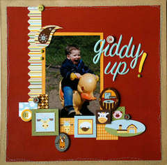 Giddy Up by Tracey Wilder