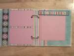 Tiffany Chipboard Album #1