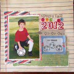 Spotsy Fall Soccer 2012