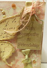 With Sympathy & Friendship