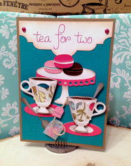 Tea for Two Bridal Shower Card