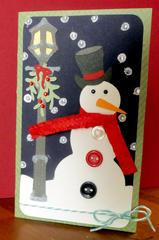 Vintage Snowman Christmas