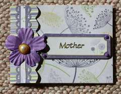 Mothers Day Card 2010