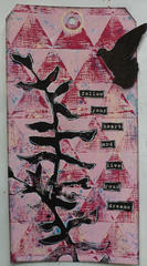 Gelli Arts Tag
